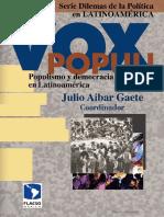 Aibar Gaete Julio - Vox populi Populismo y democracia en America Latina.pdf