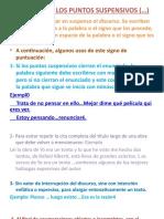 Diapositiva 14- ESTUDIO DE LOS PUNTOS SUSPENSIVOS ()