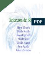 4. SELECCION BOMBAS Y CALCULO DE PERDIDAS UPB