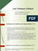 Analisis Costo Volumen-Utilidad