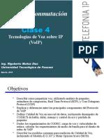 Clase 4  Voz sobre IP - VoIP - Parte I