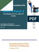 Clase 4  Voz sobre IP - VoIp - Parte II