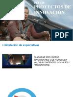 Proyectos de Innovación Clase 1