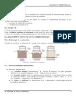 Chapitre II. Fondations superficielles