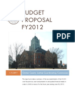 Budget Proposal FY2012