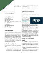 UT Dallas Syllabus for govt2302.002.11s taught by Patrick Brandt (pxb054000)