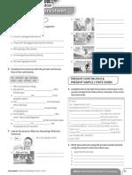 Achievers A2 Grammar Worksheet Consolidation Unit 2