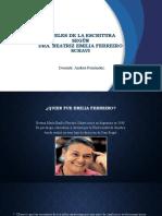 NIVELES DE LA ESCRITURA Emilia Ferreiro