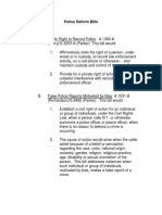 Police Reform Bills 6-7-20