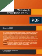 Métodos de Investigación del CO.pptx