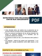 ESTRATEGIAS PARA RELACIONARME CON MI HIJO ADOLESCENTE