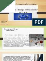 Proiect Master Drepturile Cetateanului European