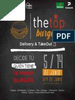 Catalogo The Top Burger 2020