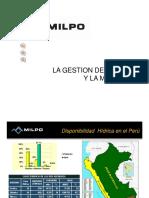 MILPO GESTION DEL AGUA Milton Alva 25