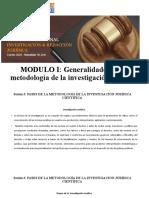 MODULO I- Sesion 3