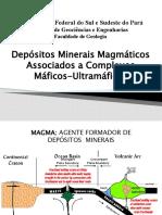 P Depósitos Complexos Máficos-Ultramáficos