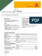 Sika MonoTop 723 N - Fairing Coat - PDS