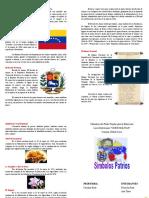 SÍMBOLOS NACIONALES PATRIOS DE VENEZUELA