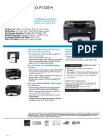 Specifications for Hp Laserjet P1102W-1
