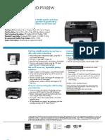 Specifications for Hp Laserjet P1102W-1