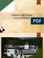 Mânăstiri din Oltenia - Iezer si Pahomie