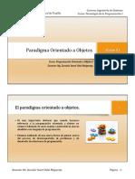 C1 - Programación Orientada a Objetos