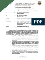 Informe N°42- Ampliacion presupuestal