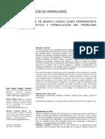 EL ENFOQUE DE MARCO LÓGICO COMO HERRAMIENTA DE DIAGNÓSTICO Y FORMULACIÓN DEL PROBLEMA CIENTÍFICO.pdf