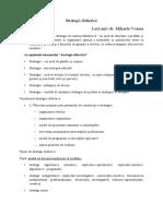 Strategii didactice