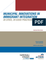 Municipal Innovations in Immigrant Integration