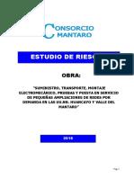 ESTUDIO DE RIESGOS CONSORCIO MANTARO