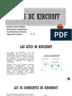 Leyes de Kirchoff