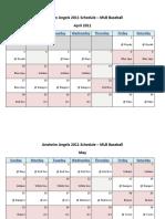 Anaheim Angels 2011 Schedule - MLB Fantasy Baseball - American (AL) League