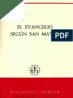 01 Comentario de Ratisbona - Schmid, Josef - El Evangelio segun San Mateo.pdf