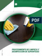 Procedimiento Limpieza y desinfección de superficies