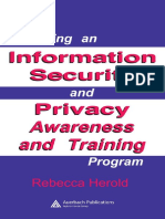 Managing an Information Security and Privacy Awareness and Training Program by Rebecca Herold.pdf