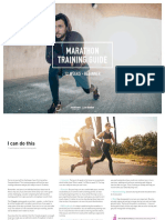 Training Guide Marathon Beginner - 12 Weeks