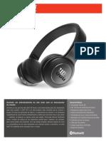 JBL_Duet BT_Spec Sheet_Portuguese