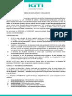 Regulamento - Programa Bootcamps IGTI