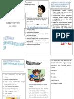 leaflet remaja