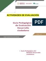 2DECI Actividades de Evaluación
