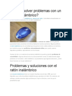 arreglar mouse inalambrico