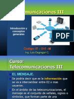Curso Telecom III 2020 Señal-Ruido