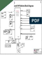 HP Stream 14-ax010wm DA0P9MB16D0 Schematic Diagram
