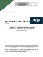 IF-P21-POE04 Procedimiento Operativo Estándar Limpieza y desinfección de licuadoras, batidoras, laminadoras, mojadoras y porcionadoras - Servicios de Alimentación.pdf