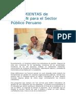 HERRAMIENTAS DE GESTION PARA EL SECTOR PUBLICO PERUANO.pdf