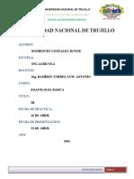 INFORME N°4 DENSIDAD REAL DE LOS SUELOS AGRICOLAS