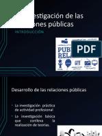 06 La investigación de las relaciones públicas