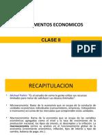 ECONOMIA CLASE II