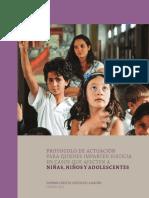2012PROTOCOLO ACTUACION JUSTICIA MENORES
